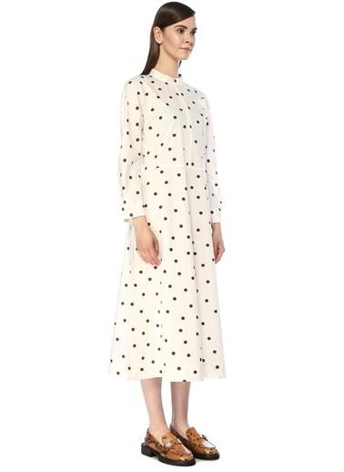 Ganni Elbise Beyaz